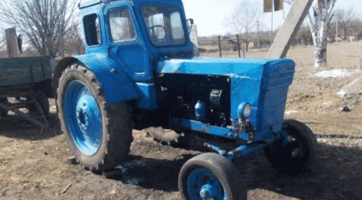 Все о тракторе Т-40