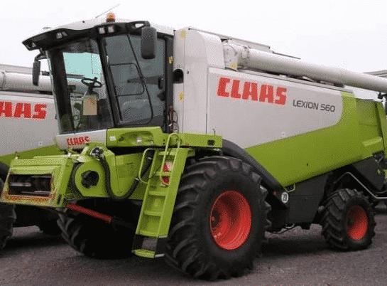 Зерноуборочный комбайн «Claas» Lexion 560