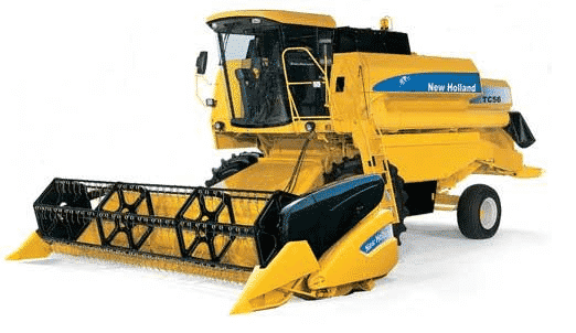 Зерновой комбайн «Нью Холланд» ТС 56