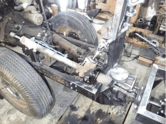 Гидравлическая система для трактора из Оки