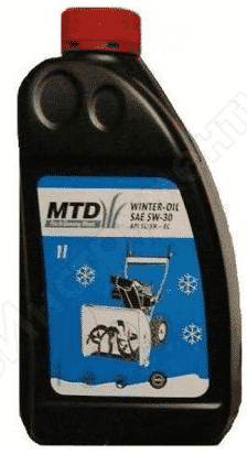 MTD SAE 5W-30 масло для снегоуборщика