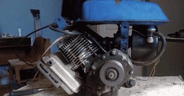 Двигатель для самодельного снегоуборщика